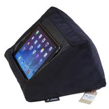 mobiletoyz ipad cushion pillow stand holder black for ipad and