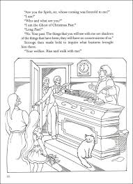 christmas carol coloring book 000515 details rainbow resource