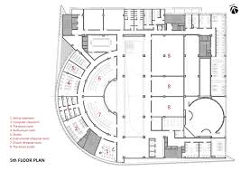 Modern Architecture Floor Plans Of Baiyunting Culture And Art Center Dushe Architectural Design