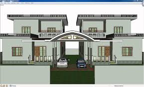 Home Design Using Sketchup by Wonderful Design 8 Twin Home Designs Impressive Plans 10 House