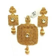 gold sets images plain gold pendant sets sone ki latkan set miracle jewels new