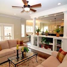 kitchen family room design step down to family room design ideas pictures remodel and decor