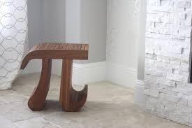 Cool Furniture Ideas by Bathroom Design Custom Teak Shower Bench On Beige Tile Floor