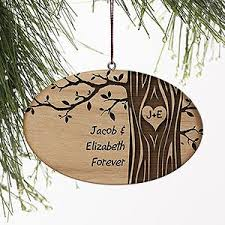 carved in personalized ornament ornament