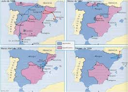 Santander Spain Map by Guerra Civil Mapa Historia Pinterest Historia Spanish And