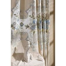 Funky Curtains by Floral Embroidery Chenille Thermal Custom Funky Living Room Curtains
