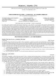 Senior Executive Resume Samples by Cpa Resume Examples Accountant Chrono Sample Writing Resume