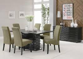 home design 81 fascinating modern dining room setss