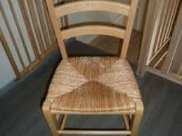 assise de chaise en paille chaise en paille avant après par elodeco