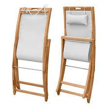 Teak Deck Chairs Sling Chair Teak Folding Deck Chair Harborside Beach Chair