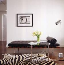 amazing barcelona chair ebay with modern side table daybed