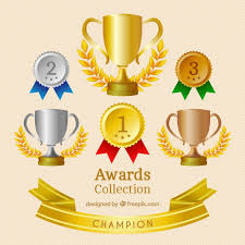 Muito Medalhas e troféus realistas definidos | Baixar vetores grátis @WC51