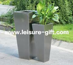 large stainless steel plant pots large stainless steel flower pots