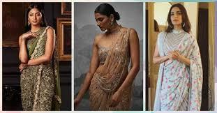 saree draping new styles 8 gorgeous new ways to drape your lehenga dupatta fabjio