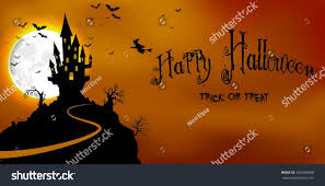 halloween scary background