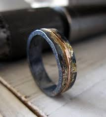 rustic mens wedding bands mens wedding band rustic wedding band mens wedding ring oxidized