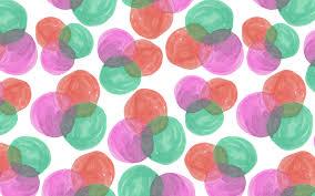 Tory Burch Wallpaper by Watercolor Circles Desktop Wallpaper Art Desktop Wallpaper