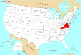Map Of Maryland And Virginia by Where Is Virginia Located U2022 Mapsof Net
