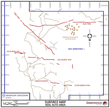 Surface Map Endeavour Silver Maps U0026 Sections