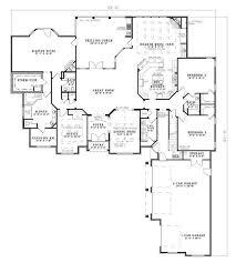 floor plan of my house luxury european house plan 3 bdrm 4121 sq ft home plan 153 1897