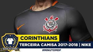 Common Terceira camisa cinza do Corinthians 2017-2018 Nike - YouTube &TX49