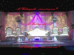 top wedding stage decoration with famous christian wedding stage