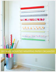 wrapping paper holder the 25 best diy wrapping paper wall holder ideas on