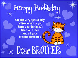 Loving Happy Birthday Quotes by Happy Birthday Brother Quotes Http Www Happybirthdaywishesonline