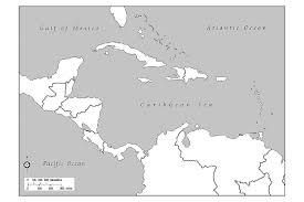 Blank Map Of Central Asia by Map Of Central America And Caribbean With Capitals You Can See A