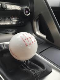 white c7 corvette c7 corvette white shift knob with black shift pattern and stingray