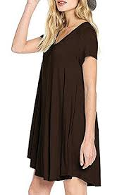 t shirt dress newyoudirect womens swing tunic tops loose fit comfy
