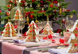 christmas table decor christmas lights decoration