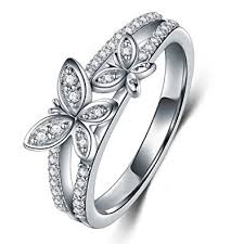 butterfly engagement ring tvs jewels new beautiful butterfly engagement ring