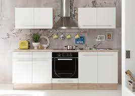 komplett küche küche wex küchenblock küchenzeile komplettküche 240cm singleküche