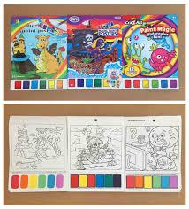 kids color filling book kids magic painting book buy magic