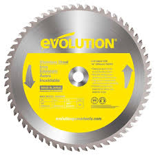 Best Saw Blade For Cutting Laminate Flooring Evolution Power Tools 14 In 90 Teeth Stainless Steel Cutting Saw