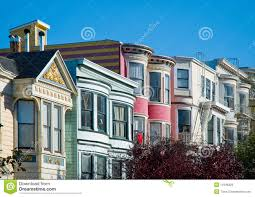 Victorian House San Francisco by Colorful Victorian Houses In San Francisco Royalty Free Stock