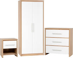 White High Gloss Bedroom Furniture by Seconique Plc Product Info