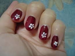 simple cute nail design flower the oi nail bar pinterest
