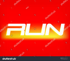 run logo template sport logotype template stock vector 564597712