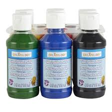 washable tempera paint by artminds