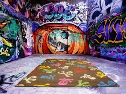 tag pour chambre déco graffiti pour chambre ado par comunicazione chiara