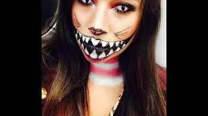 cheshire cat halloween makeup youtube