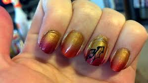 nail art fall beautify themselves with sweet nails