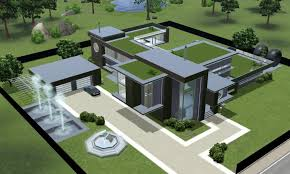 modern house blueprints house plan modern house plans sims 3 thesecretconsul com sims 3