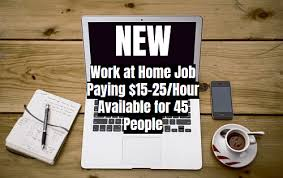 Graphic Design Works At Home New Work At Home Job Paying 15 25 Hour Available For 45 People