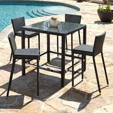 Bar Height Patio Set With Swivel Chairs Patio Ideas Bar Height Patio Set With Swivel Chairs Patio Bar