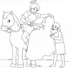 saint coloring page st teresa of avila catholic coloring page she is the patron