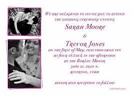 Wedding Invitation Samples Enchanting Sample Of Wedding Invitation Cards 72 For Invitation