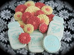 Zinnia Flowers Cookies With Character Zinnia Flower Cookies